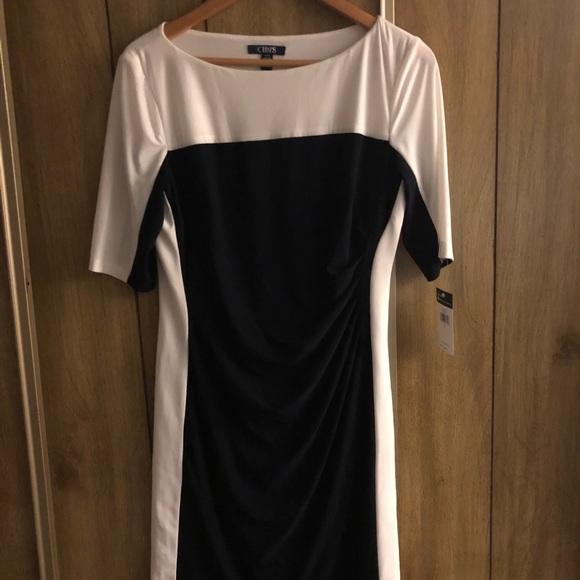 193905c9 Chaps Dresses | Womens Colorblock Sheath Dress | Poshmark